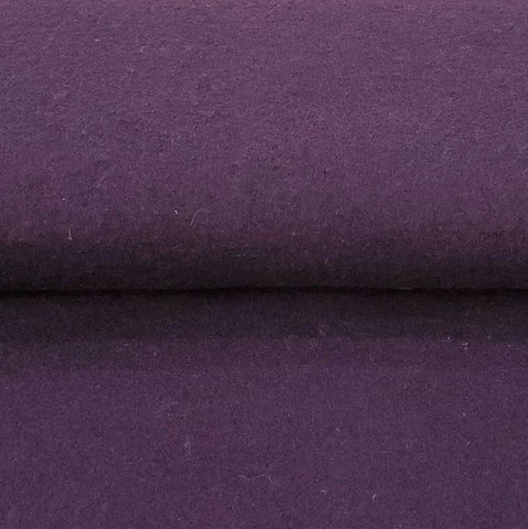 Euro Boiled Wool in Deep Purple