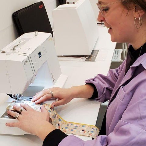 The Basics of Sewing I - How to Use your Sewing Machine - April 8 9:30 - 12:30