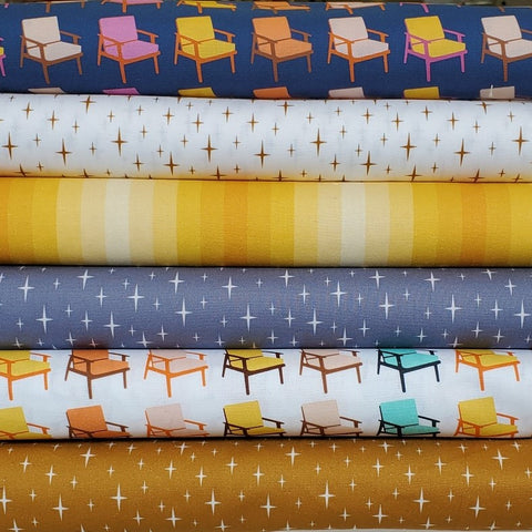 Butterscotch - Chairs in Navy