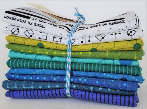 Designer Bundle Guicy Guice Declassified - 10 x Fat Quarters