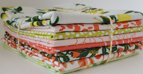 Staff Picks Bundle - 8 Fat Quarters - Feisty Fruit