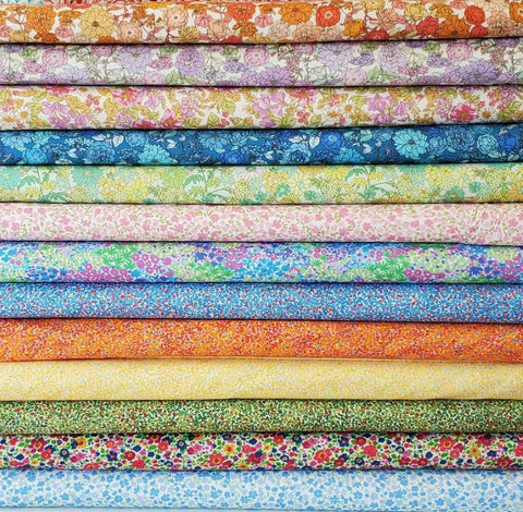 Designer Bundle - London Calling Cotton Lawn - Half Yards