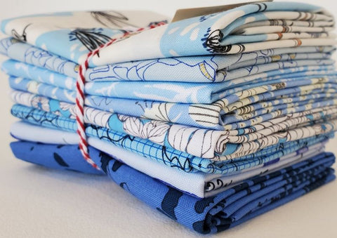 Staff Picks Bundle - 8 Fat Quarters - Skies Above