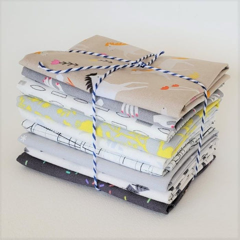 Staff Picks Bundle - 8 Fat Quarters - Playful Grey