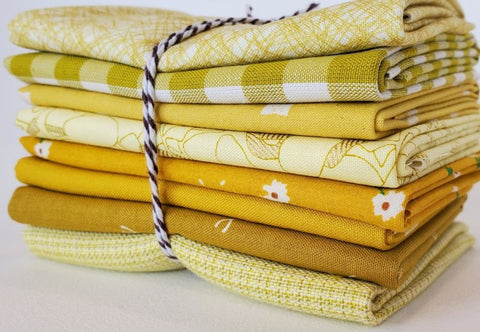Staff Picks Bundle - 8 Fat Quarters - Lime Aid