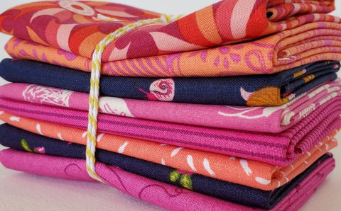Staff Picks Bundle - 8 Fat Quarters - Indian Summer