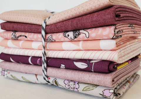 Staff Picks Bundle - 8 Fat Quarters - Heather and Blush