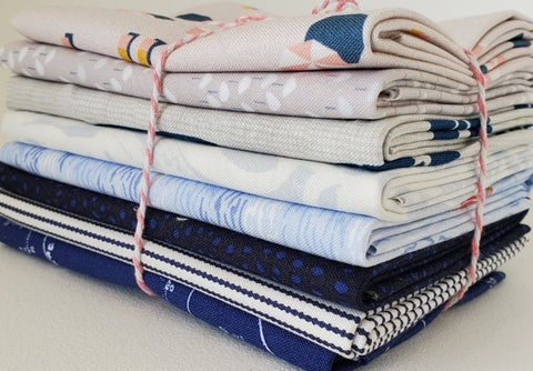 Staff Picks Bundle - 8 Fat Quarters - Seashore Sally