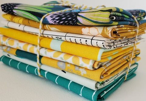 Staff Picks Bundle - 8 Fat Quarters - Golden Girl