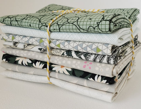 Staff Picks Bundle - 8 Fat Quarters - On Pretty Pond