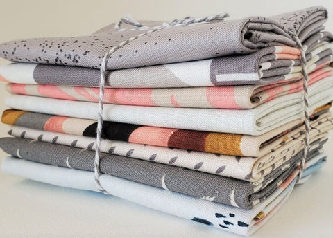 Staff Picks Bundle - 8 Fat Quarters - Earl Grey