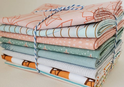 Staff Picks Bundle - 8 Fat Quarters - Cool and Collected