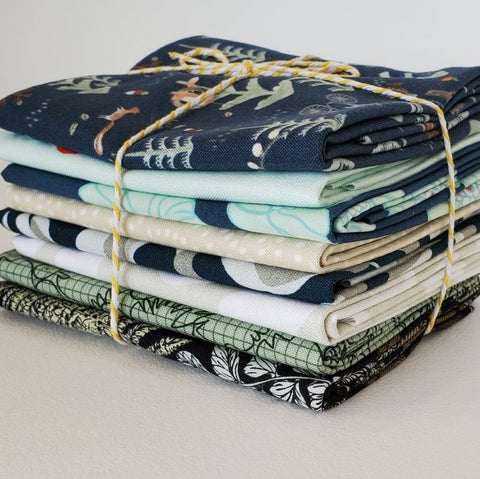 Staff Picks Bundle - 8 Fat Quarters - Woodland Mix