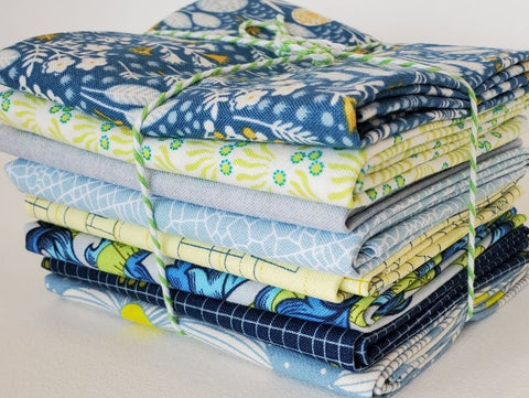 Staff Picks Bundle - 8 Fat Quarters - Sunday Morning