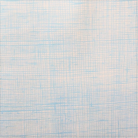 Heath Fabric Natural/ Light Blue