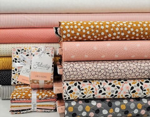 Felicity Fabric Forest Walk -  Berry