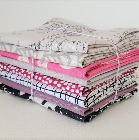 Staff Picks Bundle - 8 Fat Quarters - Glamour Girl