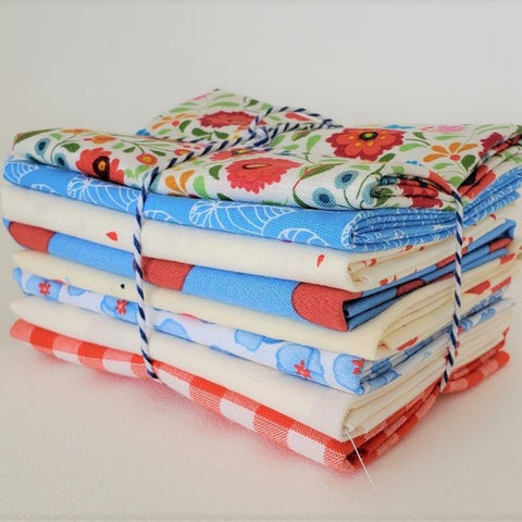 Staff Picks Bundle - 8 Fat Quarters - Picnic