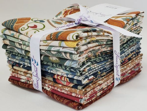 Designer Bundle - William Morris Orkney by Free Spirit  14 x Fat Quarter