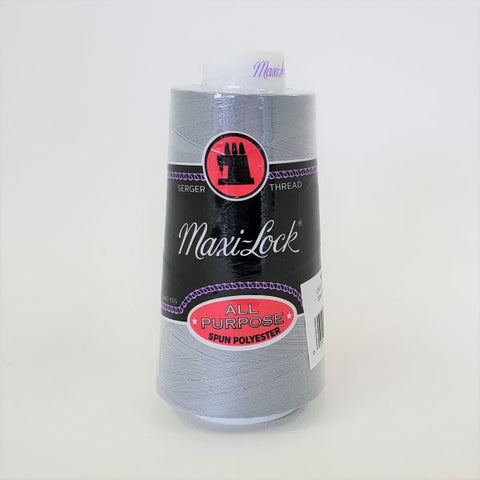 Maxi-Lock Polyester Serger Thread 50 wt - Light Grey