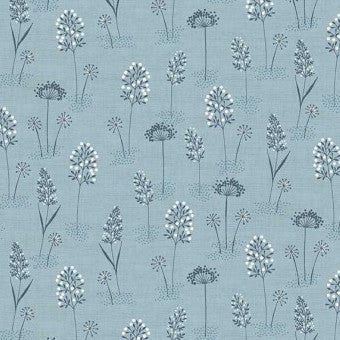 Makower Woodland - Woodland Grasses in Blue