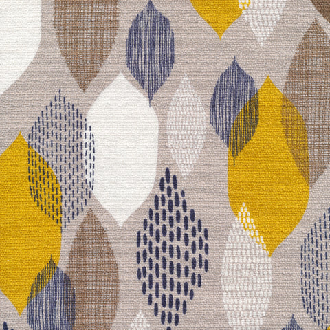 Homestyle Bark Cloth by Eloise Renouf - Ground Cover in Citron