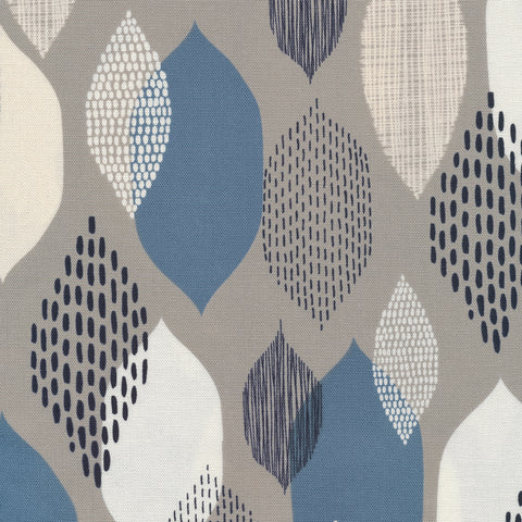 Modern Abstractions Canvas by Eloise Renouf - Ground Cover in Blue