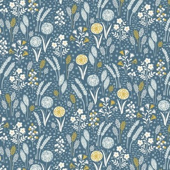 Grove by Makower - Meadow in Blue