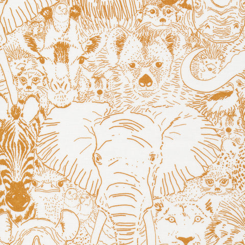 Sarah Watson Grasslands - Wild Things in Gold