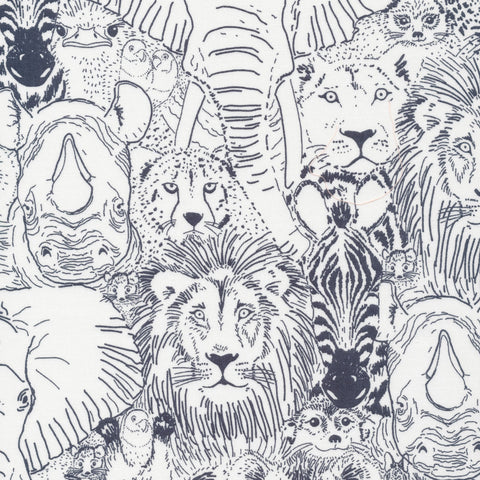 Sarah Watson Grasslands - Wild Things in Grey