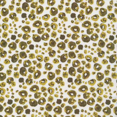 Sarah Watson Grasslands Organic Cotton - Spotties in Green