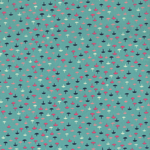 Cotton + Steel Tacks in Teal