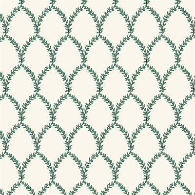 Rifle Paper Company Strawberry Fields - Laurel in Green and Cream