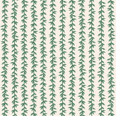 Rifle Paper Company Strawberry Fields - Laurel Stripe in Cream