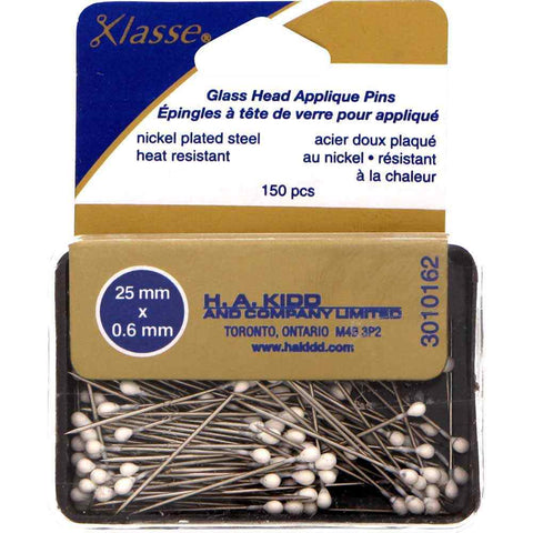 "Klasse Applique Pins 25mm x .6mm (1"")"