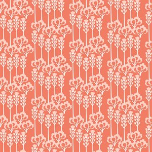 Cotton & Steel Glory by Megan Carter - Constance in Dawn Pink