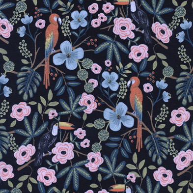 Menagerie by Rifle Paper Co. - Paradise Garden Midnight