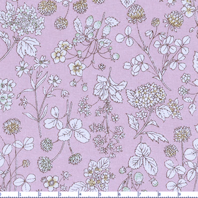 Memoire a Paris Cotton Lawn- Pale Pink