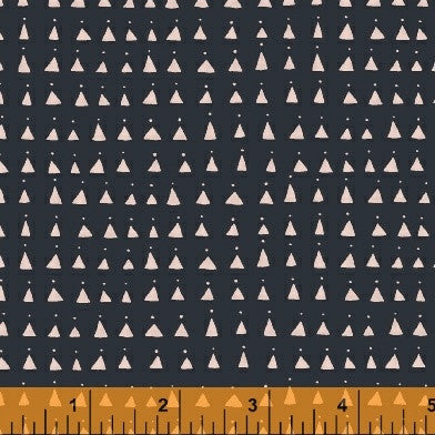 Whisper by Victoria Johnson Triangles in Navy
