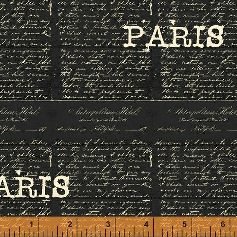 Destination Paris - Words Noir
