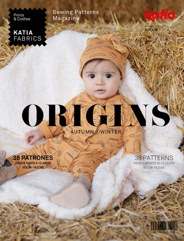 Katia Origins 2020 Fall Pattern Book for 1 month to 12 years