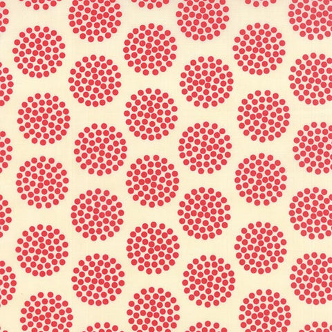 Pat Sloan Floral Dots Red