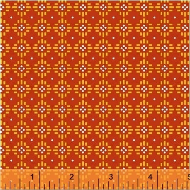 Uppercase Volume 2 by Janine Vangool - Flower Stitch in Red