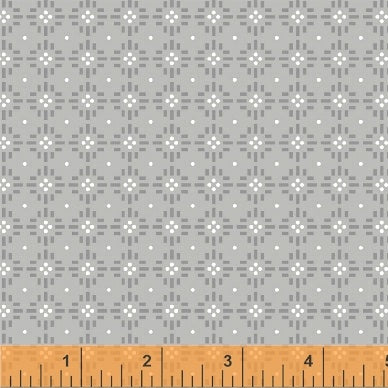 Uppercase Volume 2 by Janine Vangool - Flower Stitch in Grey