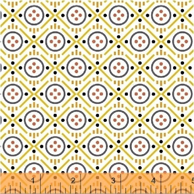 Uppercase Volume 2 by Janine Vangool - Button in Yellow