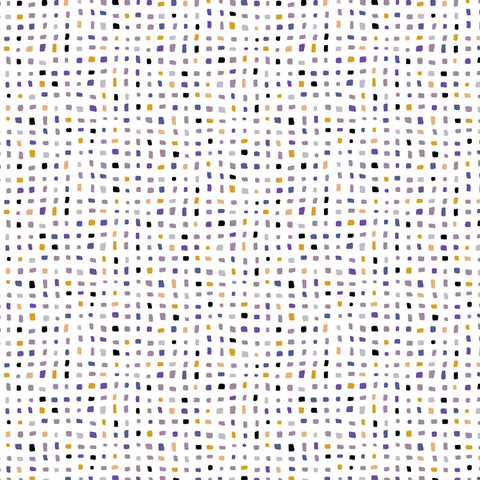 Zentastic - Confetti White Grey metallic