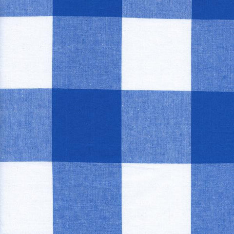Checkers by Cotton + Steel Large Gingham Blue