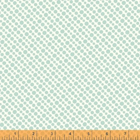 Uppercase Volume 3 by Janine Vangool - Halftone in Aqua