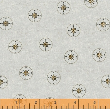 Whistler Studios Seven Seas - Compass in Grey