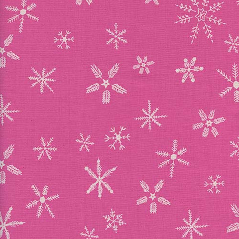 Cotton + Steel Frost - Flurry in Pink